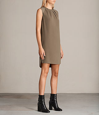 Womens Jay Dress (CAMO GREEN) - product_image_alt_text_3