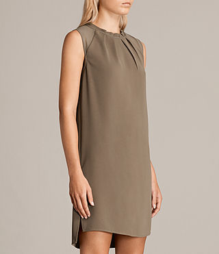 Womens Jay Dress (CAMO GREEN) - product_image_alt_text_5