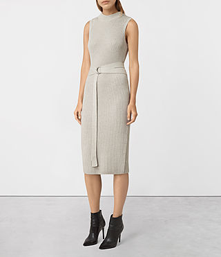 Donne East Dress (MIST GREY)