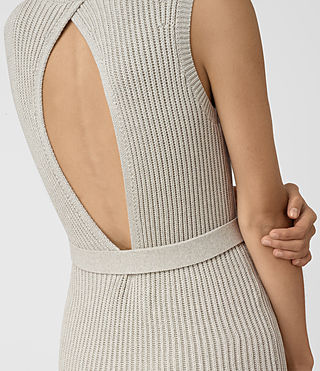 Femmes East Dress (MIST GREY) - product_image_alt_text_2