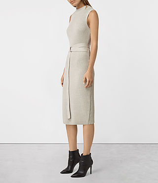 Femmes East Dress (MIST GREY) - product_image_alt_text_3
