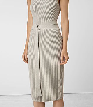 Femmes East Dress (MIST GREY) - product_image_alt_text_4