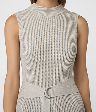 Femmes East Dress (MIST GREY) - product_image_alt_text_5