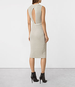 Femmes East Dress (MIST GREY) - product_image_alt_text_6