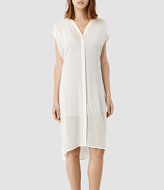 Womens Ermes Dress (Chalk)