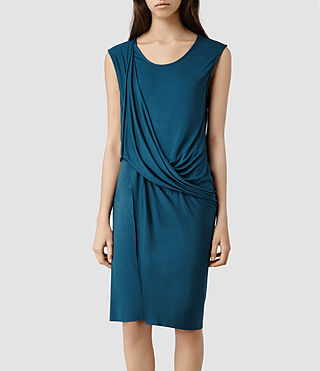 Womens Amelia Dress (Peacock)