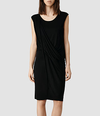 Womens Amelia Dress (Black)