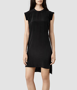 Womens Tonya Dress (Black) - product_image_alt_text_1