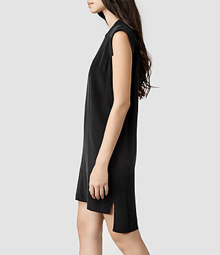 Womens Tonya Dress (Black) - product_image_alt_text_2