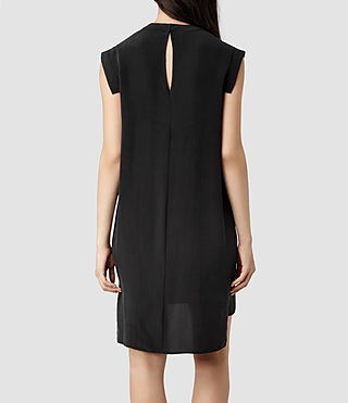 Womens Tonya Dress (Black) - product_image_alt_text_3