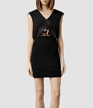 Womens Nix Dress (Black)