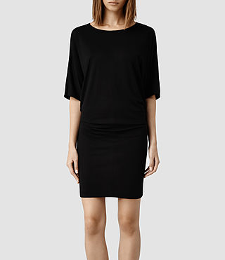 Womens Darcy Dress (Black)