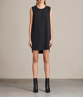 Women's Kaili Laced Dress (Black)