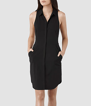 Womens Mel Dress (Black)