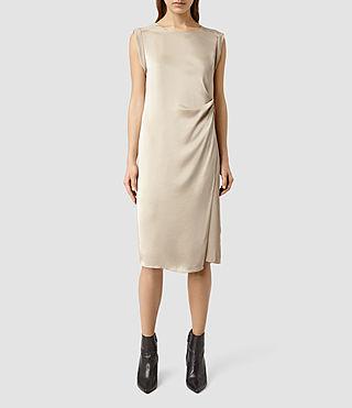 Womens Cecil Short Dress (Beige)