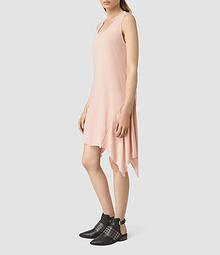Mujer Tany Dress (CAMI PINK) - product_image_alt_text_3