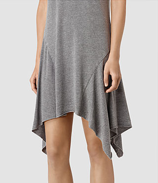 Women's Tany Dress (COAL BLACK/ASH GRY) - product_image_alt_text_2