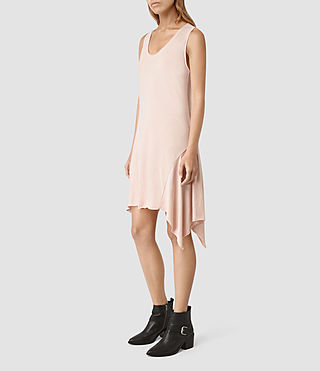 Donne Tany Dress (CAMI PINK/QTZ PINK) -