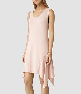 Donne Tany Dress (CAMI PINK/QTZ PINK) - product_image_alt_text_2