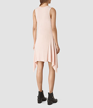 Women's Tany Dress (CAMI PINK/QTZ PINK) - product_image_alt_text_4