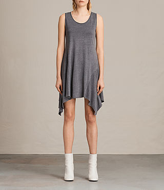 Womens Tany Dress (COAL GREY)