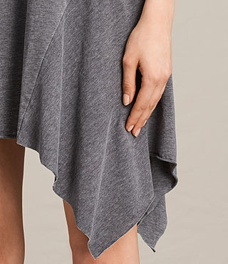 Women's Tany Dress (COAL GREY) - product_image_alt_text_2