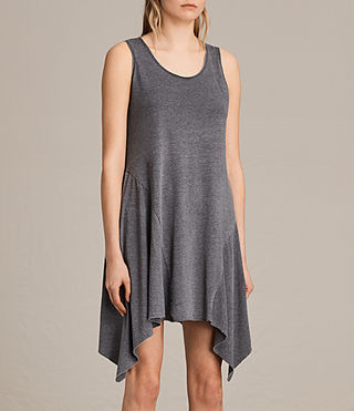 Mujer Tany Dress (COAL GREY) - product_image_alt_text_4