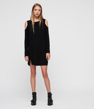 Donne Esther Dress (Black) -