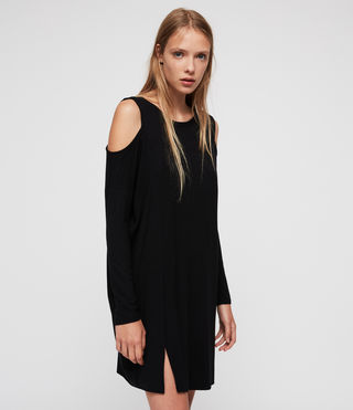 Femmes Esther Dress (Black) - product_image_alt_text_2
