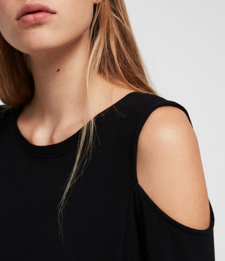 Femmes Esther Dress (Black) - product_image_alt_text_3