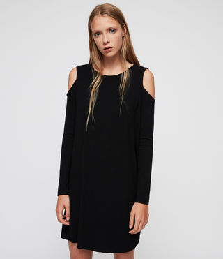 Femmes Esther Dress (Black) - product_image_alt_text_4