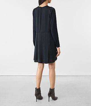 Femmes Frieda Dress (Ink Blue) - product_image_alt_text_5