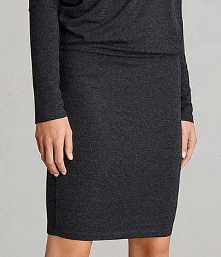 Femmes Robe Fri (Dark Grey Marl) - Image 4