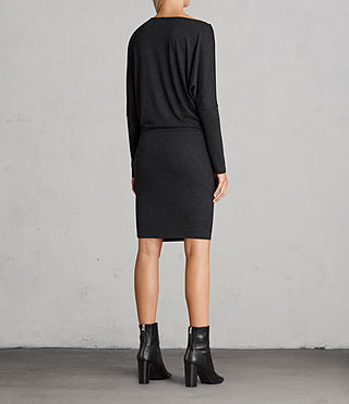 Femmes Robe Fri (Dark Grey Marl) - Image 7