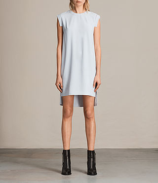 Women's Tonya Stitch Dress (OFFSHORE GREY)
