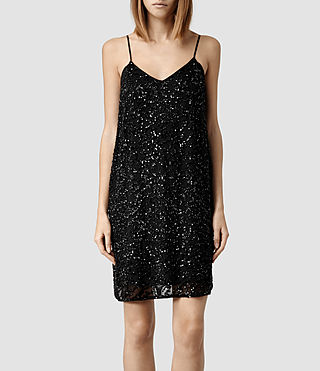 Womens Elixir Dress (Black)