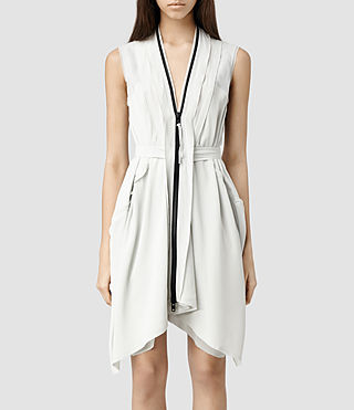 Womens Lewis Lew Dress (Ice)
