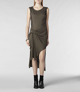 Womens Riviera Jersey Dress (Russet) - product_image_alt_text_1