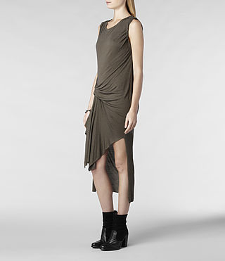 Womens Riviera Jersey Dress (Russet) - product_image_alt_text_2