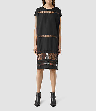 Damen Emeline Dress (Black)