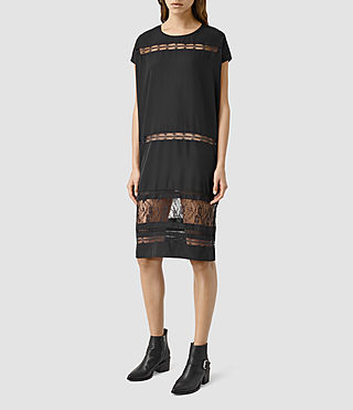 Mujer Emeline Dress (Black) - product_image_alt_text_2