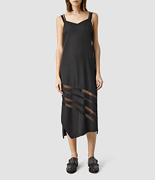 Womens Emeline Dress (Black)