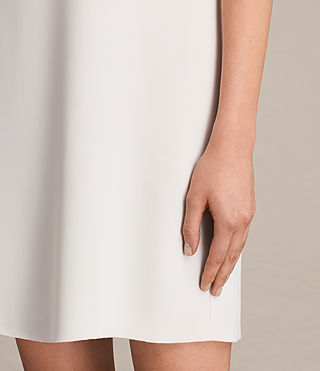 Womens Prism Dress (OYSTER WHITE) - product_image_alt_text_4