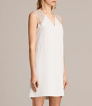 Womens Prism Dress (OYSTER WHITE) - product_image_alt_text_5
