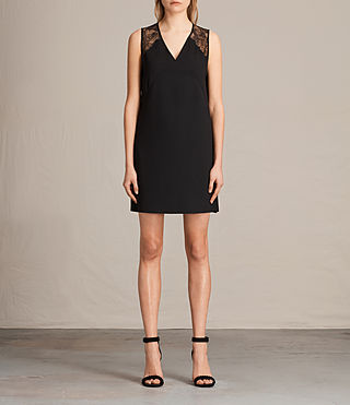 Womens Prism Dress (Black) - product_image_alt_text_1