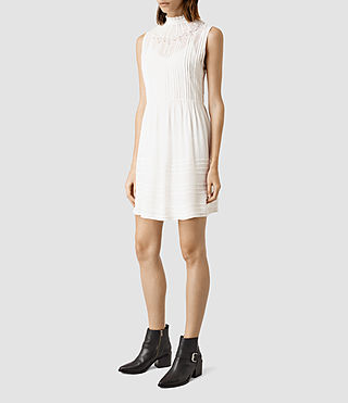 Mujer Lolita Dress (Chalk White)
