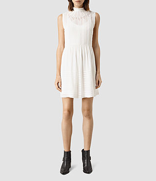 Mujer Lolita Dress (Chalk White) - product_image_alt_text_2