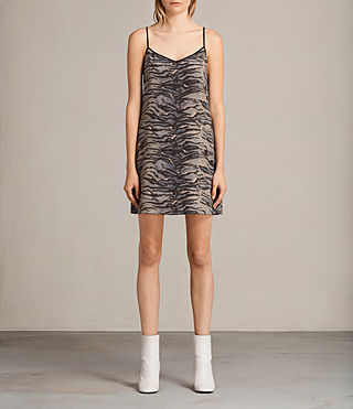 ashlee tiger slip dress
