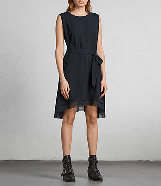 Women's Nyla Dress (Ink Blue) - Image 1