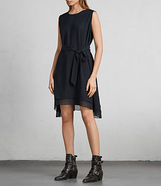 Women's Nyla Dress (Ink Blue) - Image 3
